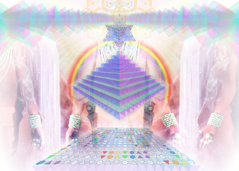 pyramidhologramnotext